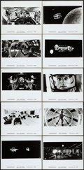 "Movie Posters:Science Fiction, 2001: A Space Odyssey (MGM, 1968). Photos (18) (8"" X 10""). ScienceFiction.. ... (Total: 18 Items)"