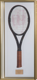Miscellaneous Collectibles:General, 1987 Chris Evert Wimbledon Match Used Racquet from The Judy NelsonCollection. ...