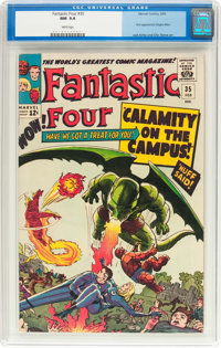Fantastic Four #35 (Marvel, 1965) CGC NM 9.4 White pages