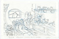 Animation Art:Production Drawing, Pinocchio and Beauty and the Beast Consumer ProductsDrawings and Film Negatives Group of 6 (Walt Disney, ... (Total: 6Items)