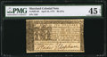 Colonial Notes:Maryland, Maryland April 10, 1774 $6 PMG Choice Extremely Fine 45 EPQ.. ...