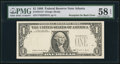Error Notes:Third Printing on Reverse, Fr. 1914-F $1 1988 Federal Reserve Note. PMG Choice About Unc 58 EPQ.. ...