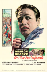 """On the Waterfront (Columbia, 1954). One Sheet (27"""" X 41"""")"""