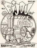 Original Comic Art:Covers, Robert Crumb Bijou Funnies #6 Cover Original Art (KitchenSink, 1971)....
