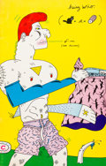 Silver Age (1956-1969):Alternative/Underground, Hairy Who Cat-A-Log #nn (Corcoran Gallery of Art, 1969) Condition:FN....