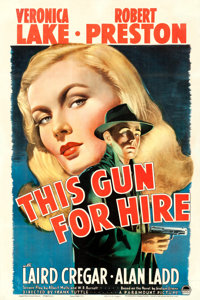 """This Gun for Hire (Paramount, 1942). One Sheet (27"""" X 41"""")"""