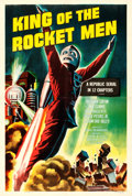 "Movie Posters:Serial, King of the Rocket Men (Republic, R-1956). One Sheet (27"" X 41"")....."
