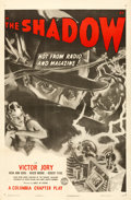 "Movie Posters:Crime, The Shadow (Columbia, R-1947). One Sheet (27"" X 41"").. ..."