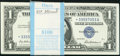 Small Size:Silver Certificates, Fr. 1619* $1 1957 Silver Certificates. 100 Examples. . ... (Total: 100 notes)