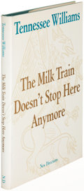 Books:Literature 1900-up, Tennessee Williams. The Milk Train Doesn't Stop HereAnymore. [New York]: 1964. First edition....