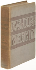 Books:Literature 1900-up, James T. Farrell. Gas-House McGinty. New York: 1933. Firstedition, association copy inscribed to John Dos Passos....