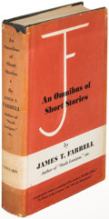 Books:Literature 1900-up, James T. Farrell. An Omnibus of Short Stories. New York:[1956]. First edition, association copy inscribed to Ka...
