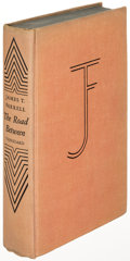Books:Literature 1900-up, James T. Farrell. The Road Between. New York: [1949]. Firstedition, inscribed....