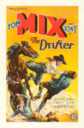 "Movie Posters:Western, The Drifter (FBO, 1929). One Sheet (27"" X 41"").. ..."