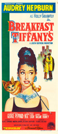"Movie Posters:Romance, Breakfast at Tiffany's (Paramount, 1961). Australian Daybill(13.25"" X 30"").. ..."