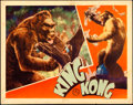 "Movie Posters:Horror, King Kong (RKO, 1933). Lobby Card (11"" X 14"").. ..."