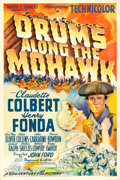 "Movie Posters:Adventure, Drums Along the Mohawk (20th Century Fox, 1939). One Sheet (27"" X41"") Style B.. ..."
