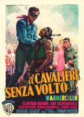 "Movie Posters:Western, The Lone Ranger (Warner Brothers, 1956). Italian 2 - Fogli (39.25""X 54.5"") Luigi Martinati Artwork.. ..."
