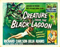 "Movie Posters:Horror, Creature from the Black Lagoon (Universal International, 1954).Half Sheet (22"" X 28"") Style A. Reynold Brown Artwork.. ..."