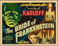 "Movie Posters:Horror, The Bride of Frankenstein (Universal, 1935). Title Lobby Card (11"" X 14"").. ..."