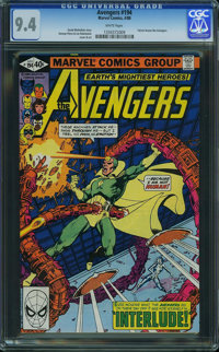 The Avengers #194 (Marvel, 1980) CGC NM 9.4 White pages