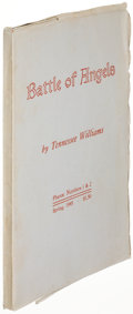 Books:Literature 1900-up, Tennessee Williams. Battle of Angels. Murray: 1945. Firstedition, signed....