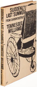 Books:Literature 1900-up, Tennessee Williams. Suddenly Last Summer. [New York: 1958].First edition....