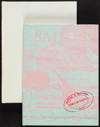 William S. Burroughs. Port of Saints. London: 1973. First edition, limited to 100 copies, signe