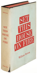 Books:Literature 1900-up, William Styron. Set This House on Fire. New York: [1960].First edition, advance dust jacket, signed....