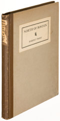 Books:Literature 1900-up, Robert Frost. North of Boston. New York: 1914. Firstedition, U. S. issue....