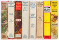 Books:Science Fiction & Fantasy, Edgar Rice Burroughs. Group of Eight Tarzan Books. New York: [1924-1939]. Grosset and Dunlap editions, including an early re... (Total: 8 Items)