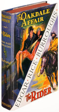 Books:Science Fiction & Fantasy, Edgar Rice Burroughs. The Oakdale Affair | The Rider.Tarzana: [1937]. First edition....
