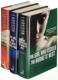 Books:Mystery & Detective Fiction, Stieg Larsson. The Millennium Trilogy. London: [2008-2009].First English editions.... (Total: 3 Items)