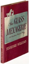 Books:Literature 1900-up, Tennessee Williams. The Glass Menagerie. New York: RandomHouse, [1945]. First edition in a restored dust jacket...