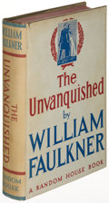 Books:Literature 1900-up, William Faulkner. The Unvanquished. New York: [1938]. Firstprinting....