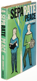 Books:Literature 1900-up, John Knowles. A Separate Peace. New York: 1960. First U. S.edition, first dust jacket....