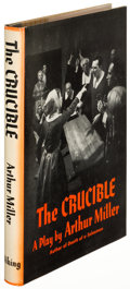 Books:Literature 1900-up, Arthur Miller. The Crucible. New York: 1953. First edition,inscribed....