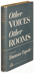 Books:Literature 1900-up, Truman Capote. Other Voices, Other Rooms. New York: [1948].First printing, inscribed....