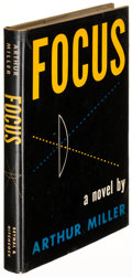 Books:Literature 1900-up, Arthur Miller. Focus. New York: [1945]. First edition, signed....