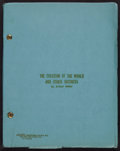 Books:Literature 1900-up, Arthur Miller. The Creation of the World and Other Business.[New York: circa 1972]. Mimeographed copy of the typesc...