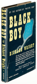 Books:Literature 1900-up, Richard Wright. Black Boy. New York: [1945]. First edition, inscribed....