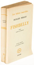 Books:Literature 1900-up, Richard Wright. Fishbelly. Paris: [1960]. First Frenchedition of The Long Dream, inscribed....