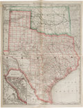 Miscellaneous:Maps, Map of Texas and Indian Territory. Map of Texas and Indian Territory....