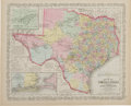 Miscellaneous:Maps, J.H. Young. Map of the State of Texas ...