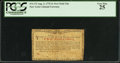Colonial Notes:New York, New York August 2, 1775 (Water Works) 2s PCGS Very Fine 25.. ...