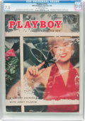 Magazines:Vintage, Playboy V2#12 (HMH Publishing, 1955) CGC VF- 7.5 Off-white to white pages....