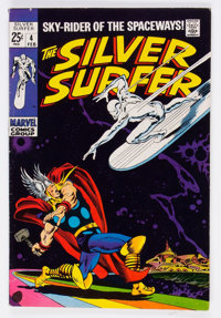 The Silver Surfer #4 (Marvel, 1969) Condition: VG/FN