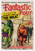 Silver Age (1956-1969):Superhero, Fantastic Four #12 (Marvel, 1963) Condition: GD-....