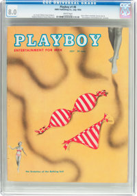 Playboy #8 (HMH Publishing, 1954) CGC VF 8.0 White pages