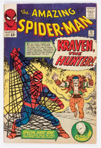 The Amazing Spider-Man #15 (Marvel, 1964) Condition: VG/FN